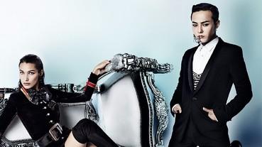 G-DRAGON 帥氣登上中國版《VOGUE》 與超模共同入鏡!