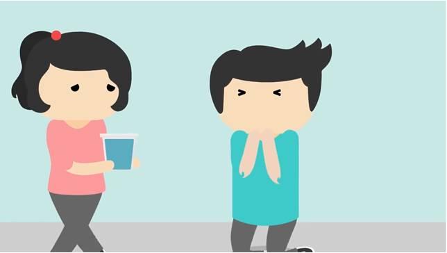Kalau tenggorokan seret, sering banget buat ngomong jadi susah