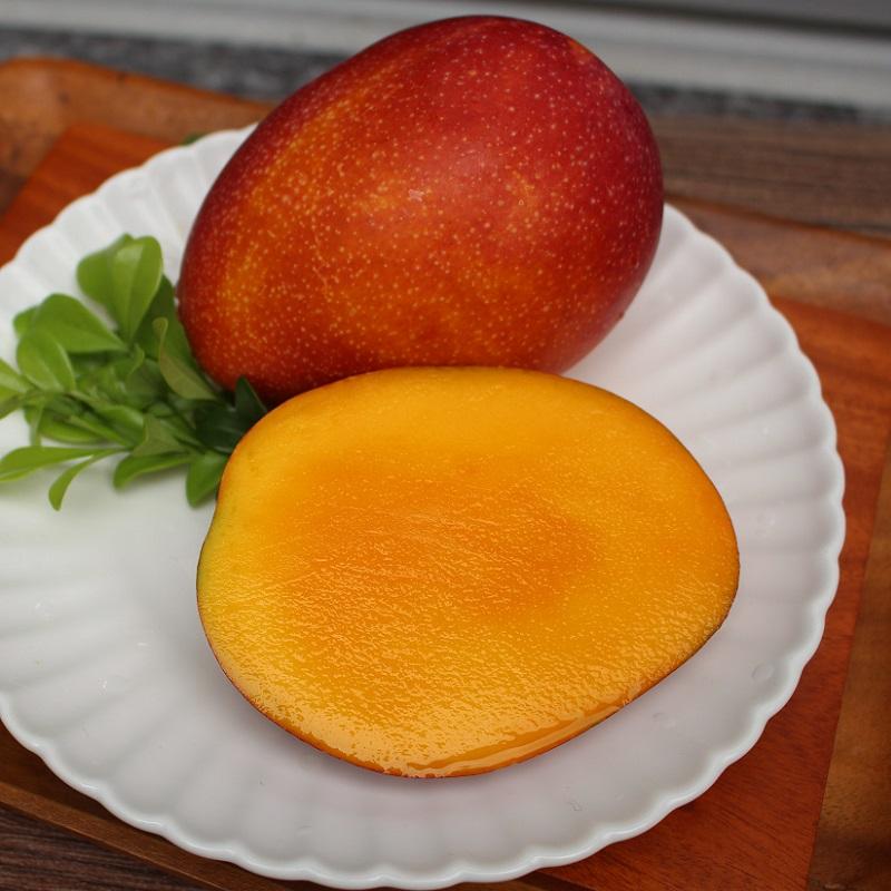 一起買水果夕照紅芒果-愛文芒果(每箱約6公斤/約18顆)