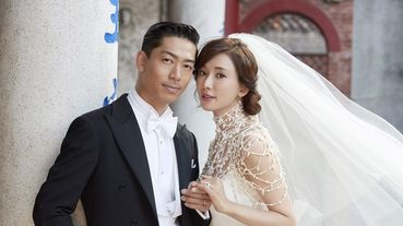 林志玲台南大婚夫妻都哭慘了!AKIRA中文誓詞告白「讓妳成為全世界最幸福的人」惹志玲姐姐淚崩