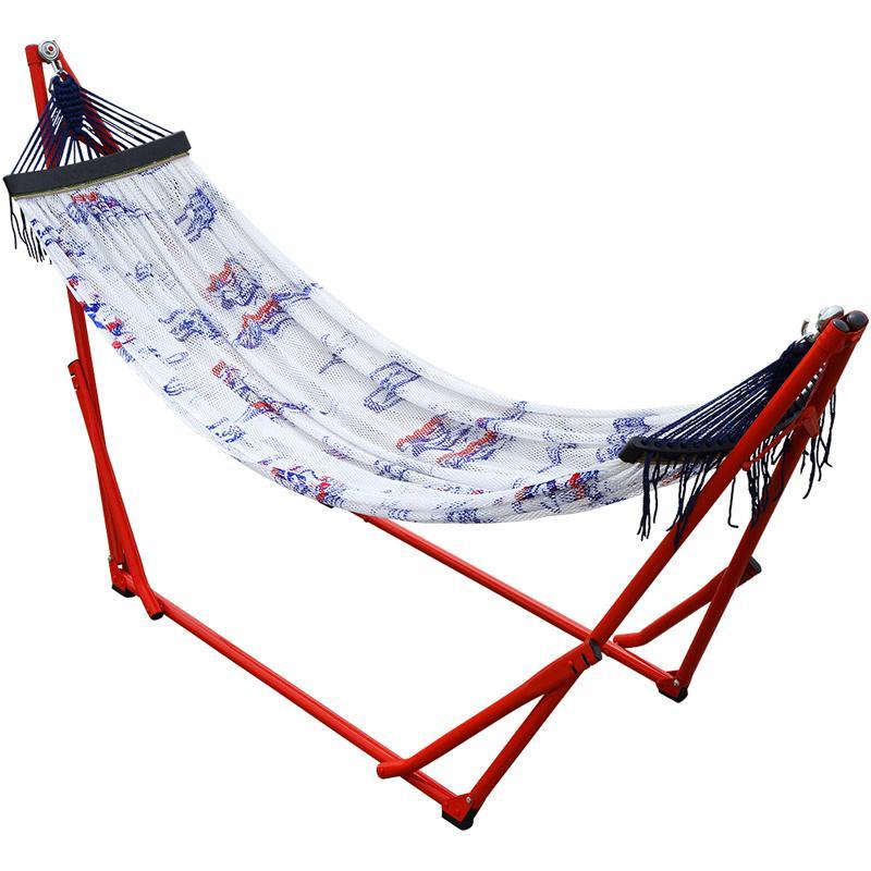 [新品] 折疊收納式吊床-Hawaiian Girl