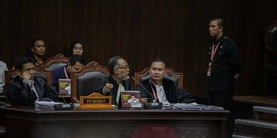 Sidang perselisihan hasil pemilu. ©Liputan6.com/Faizal Fanani