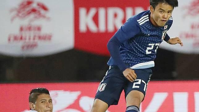 Skill Takefusa Kubo Bikin Zinedine Zidane Terkesan