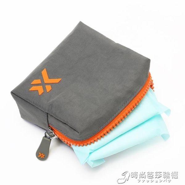 生理期收納包月事少女心放衛生巾的姨媽包袋子隨身裝便攜韓國日系