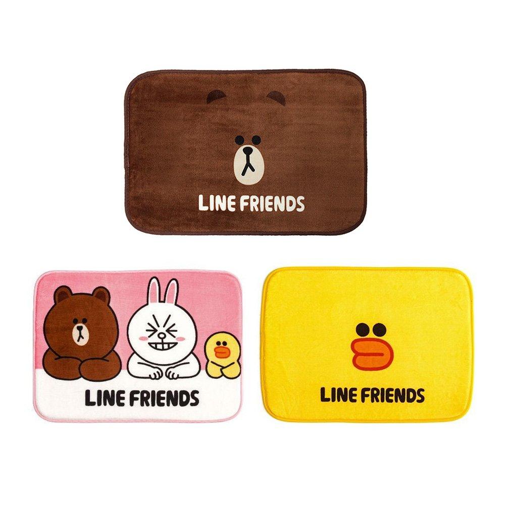 LINE FRIEND正版授權超可愛熊大/莎莉/好朋友款造型地墊