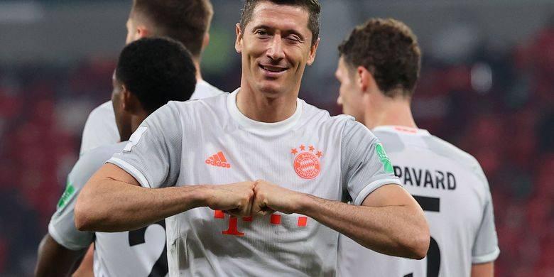 Lewandowski Ungkap Obrolan Ruang Ganti Sebelum Bayern Raih Sextuple