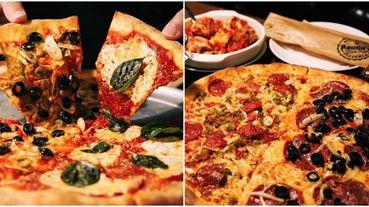 韓國評鑑TOP1最好吃披薩「Paulie's 波利斯美式窯烤披薩 」旗艦店進駐台北!紐約美式雙拼餅皮一定要試