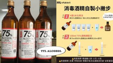 健保藥局本周起開賣小瓶裝「75%防疫酒精」,還沒買到酒精的朋友們注意!