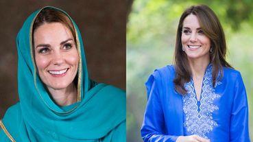 入境隨俗的最高境界!凱特王妃Kate Middleton出訪巴基斯坦穿搭特輯