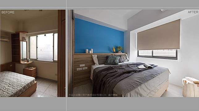 臥室翻新實例四: 改造前後