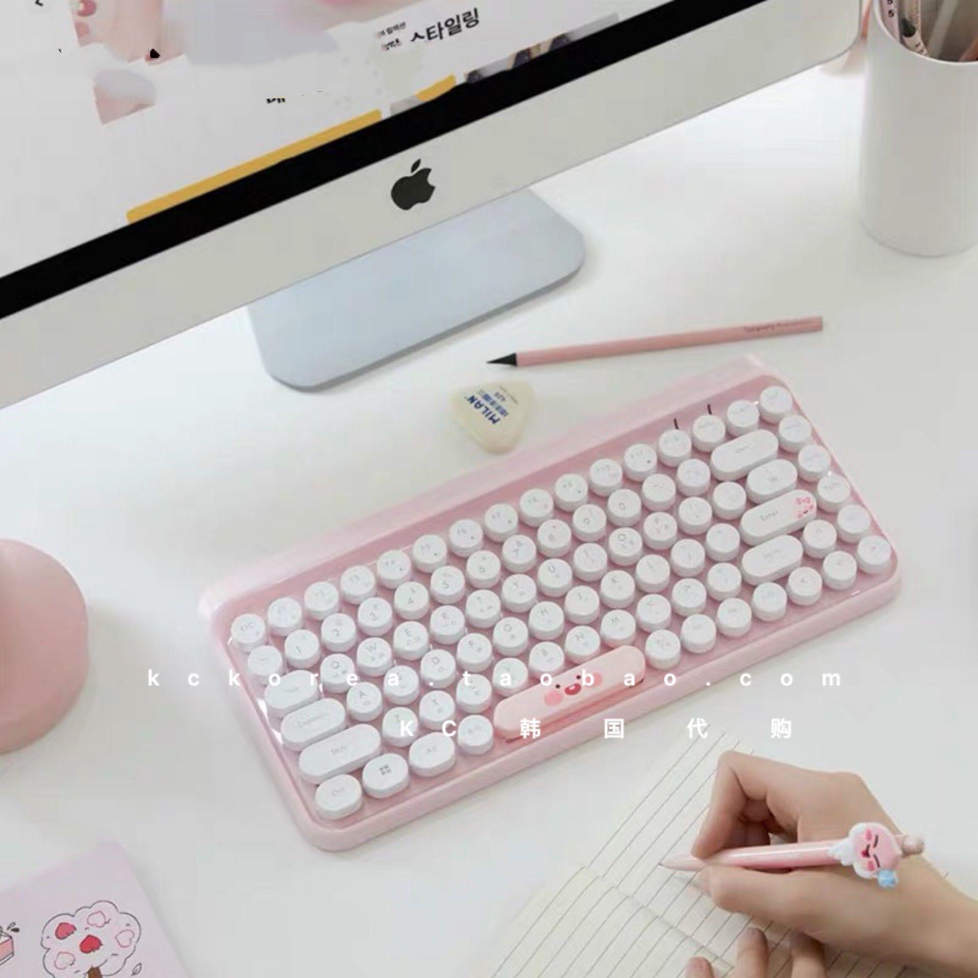 【全球購】 kakao friends無線鍵盤屁桃無線滑鼠滑鼠墊