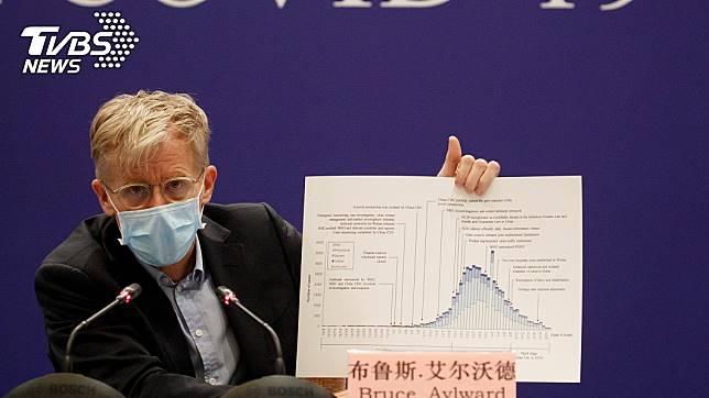 世界衛生組織考察組組長艾爾沃德(Bruce Aylward)。(圖/達志影像路透社)