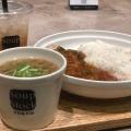 カレーとスープのセット - 実際訪問したユーザーが直接撮影して投稿した新宿スープ専門店スープストックトーキョー ルミネ新宿店の写真のメニュー情報