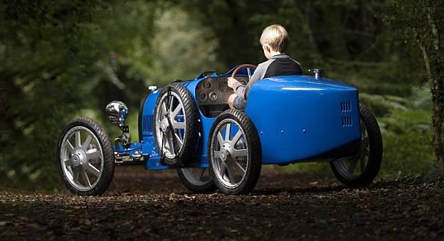 Penampakan Bugatti Baby II, mobil elektrik Bugatti untuk anak sultan