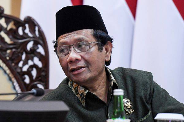 Menteri Koordinator Bidang Politik Hukum dan Keamanan Mahfud MD