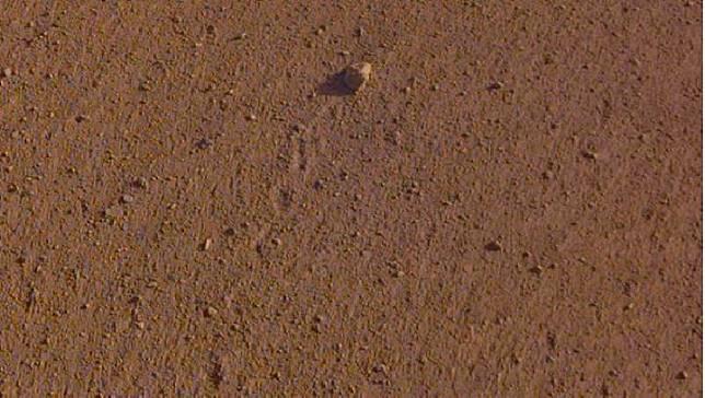NASA menamakan batu di Planet Mars dengan nama Rolling Stones Rock, 23 Agustus 2019. (NASA/JPL-Caltech)