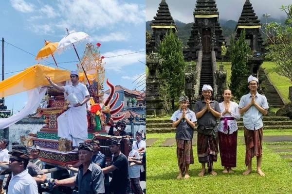 Hari Raya Umat Hindu, 6 Artis Indonesia Ini Rayakan Nyepi