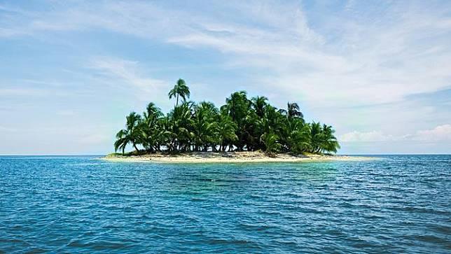 Ilustrasi Samudera Pasific.