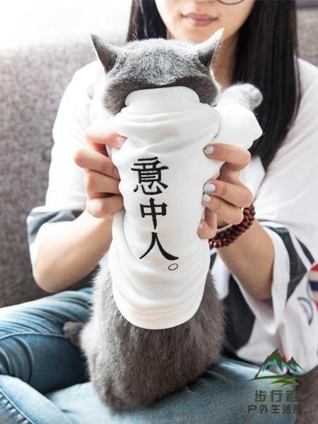 抖音同款貓咪衣服防掉毛小奶貓貓保暖冬季英短幼貓狗狗寵物秋冬裝