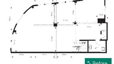 不規則建築與一戶拆兩戶的動線規劃