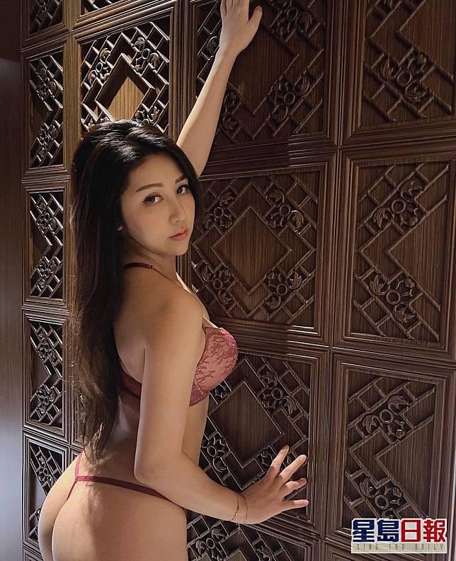 泰式靚臀 余海娜(Hana) 三圍:34C、25、35 年齡:27歲 身高:166cm 腿長:40吋