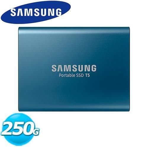 SAMSUNG三星 SSD Por SSD T5 250GB 移動式固態硬碟