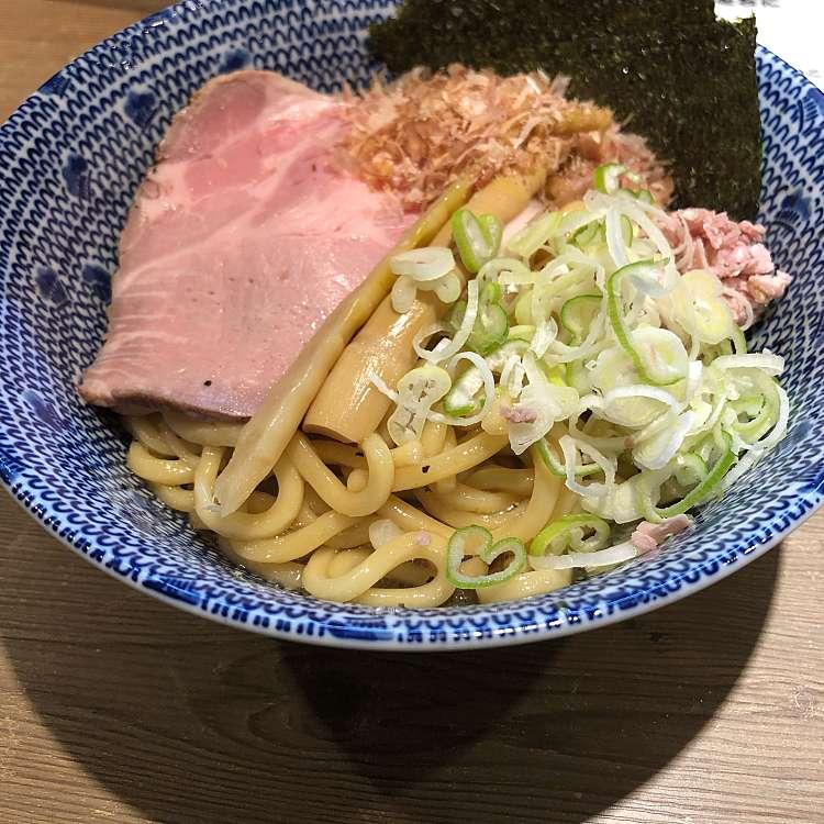 新宿区周辺で多くのユーザーに人気が高いつけ麺図星の油SOBAの写真
