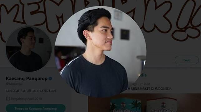 Kaesang Pangarep (Twitter)