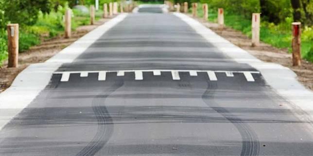 Salah satu speed bump di jalanan (Autoblog)