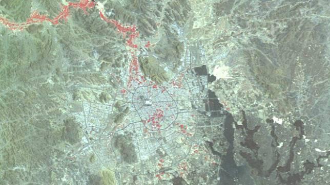 Citra kota Madinah dari satelit LAPAN A3/LAPAN-IPB