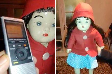 Boneka Scarlet yang diyakini sebagai boneka berhantu.