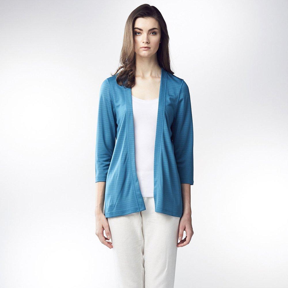 【ST.MALO】防曬防蚊絕色顯瘦雙面針織外套-1681WJ-湖水藍