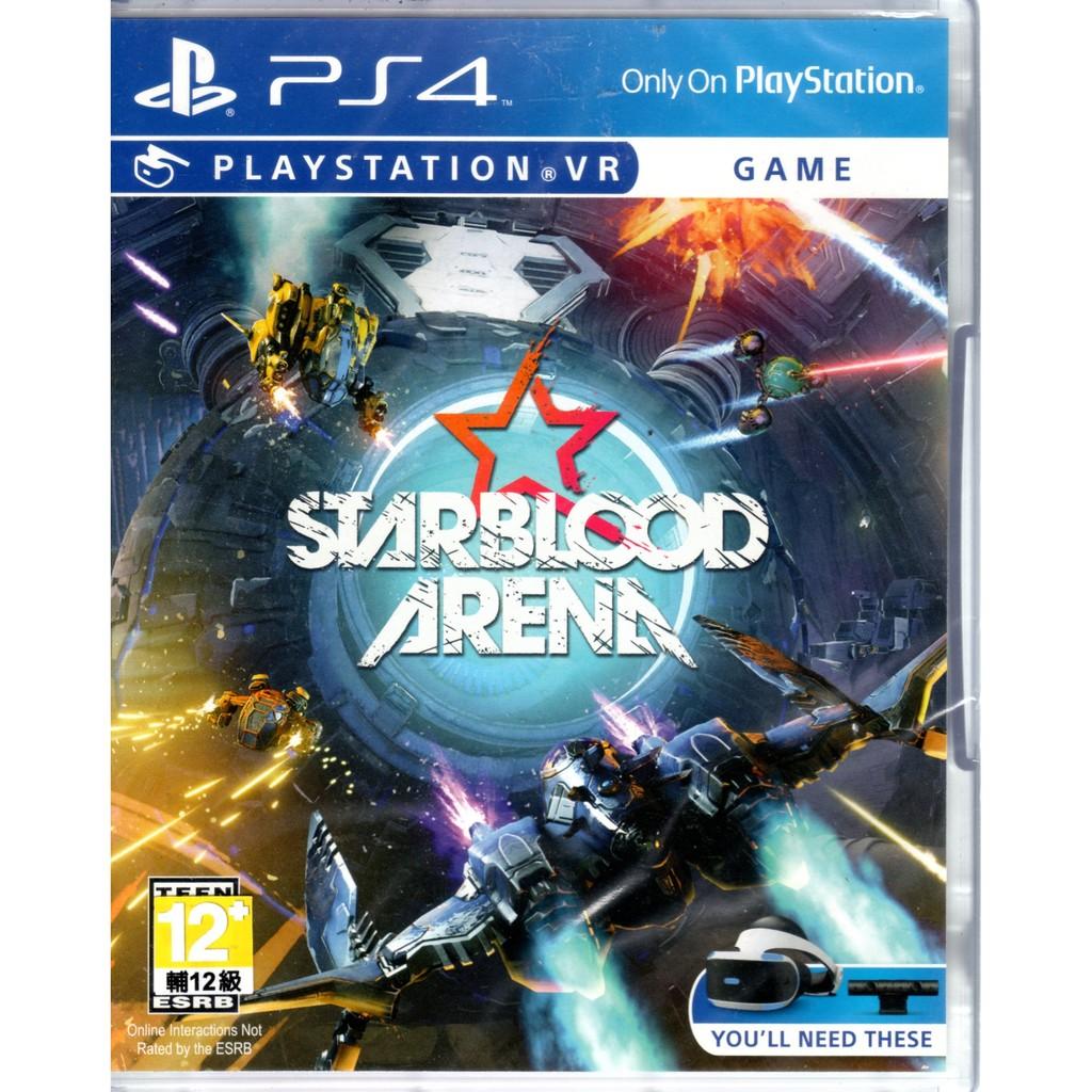 現貨中 PS4 遊戲 Starblood Arena 英文版 遊戲需搭配PlayStation VR 頭戴裝置方可啟動 全新未拆封 ※軟體屬於著作權商品,經拆封視同購買, 恕無法接受退換貨,謝謝 在P