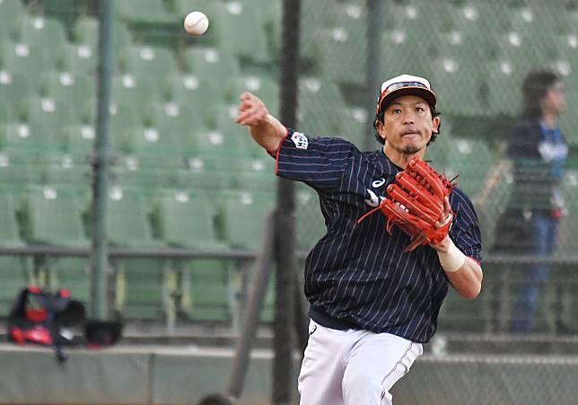 ▲世界棒球12強日本隊內野手松田宣浩。(圖/記者葉政勳
