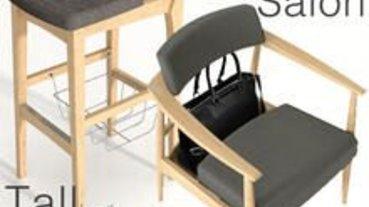 比提供雜物籃更貼心的包包椅
