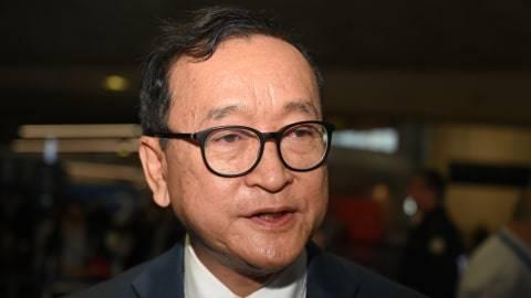 Tidak Jadi ke Jakarta, Pemimpin Oposisi Kamboja Tiba di Malaysia