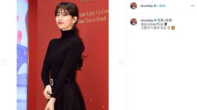 Bae Suzy. (Instagram/@skuukzky)