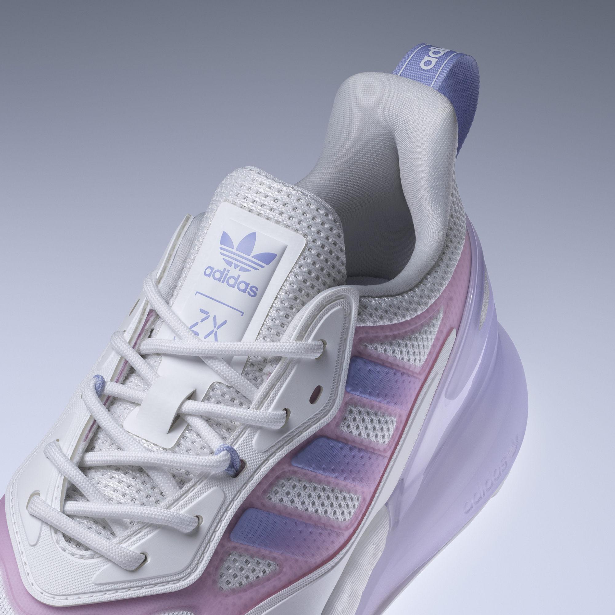 ADIDAS ZX 2K BOOST 2.0 W 女 休閒鞋 白紫