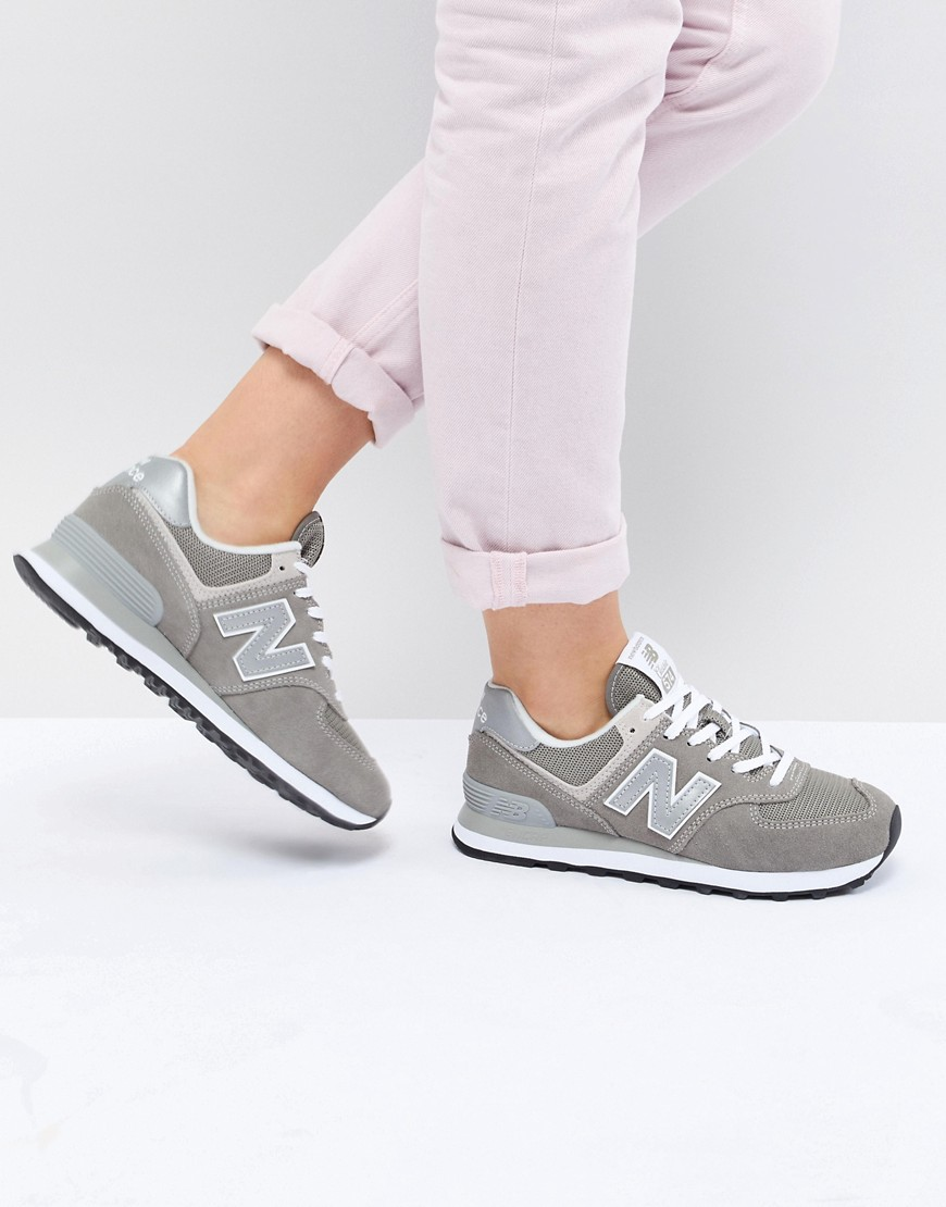 Trainers by New Balance Nothing beats a fresh pair of trainers Padded collar for comfort Breathable