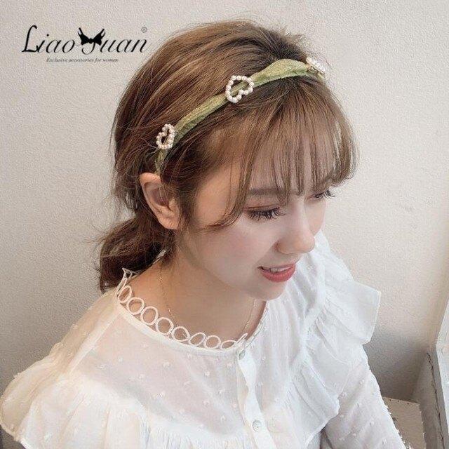 髮箍 頭箍 少女仙美頭飾髮箍女壓髮小清新森系頭箍簡約甜美優雅韓國氣質髮卡