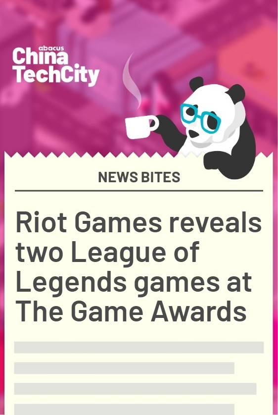 Riot Games reveals two new League of Legends games at The Game Awards