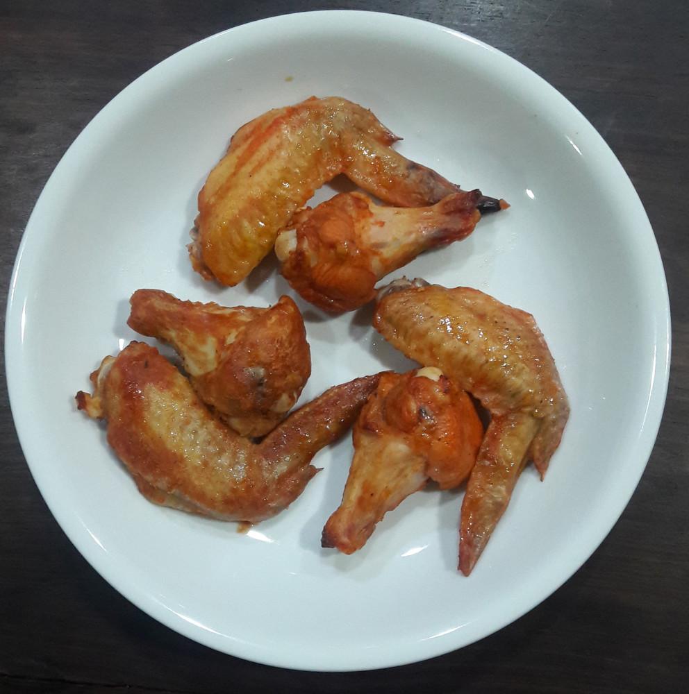 奧爾良烤雞熟食包 內含:6雞翅+6腿翅