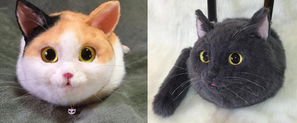 貓奴們看過來~超逼真貓咪包包讓你背上街!