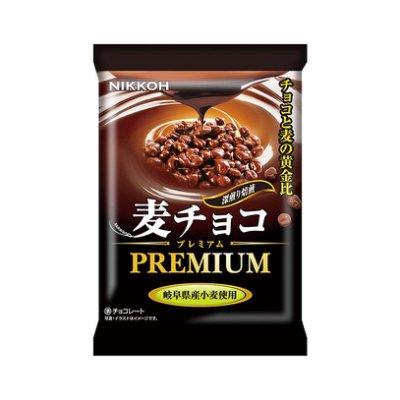 +東瀛go+ NIKKOH 日幸 小麥巧克力 30g PREMIUM 日本進口 夾心巧克力 堅果巧克力 日本零食
