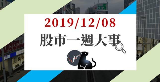 12/08 股市一週大事:香港未波及談判、非農強勁 → 台股多頭未變,能否再度創高得看「它」…