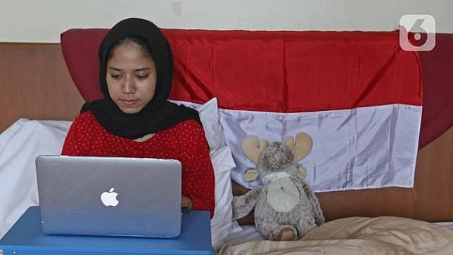 Potret Para Karyawan Saat Work From Home