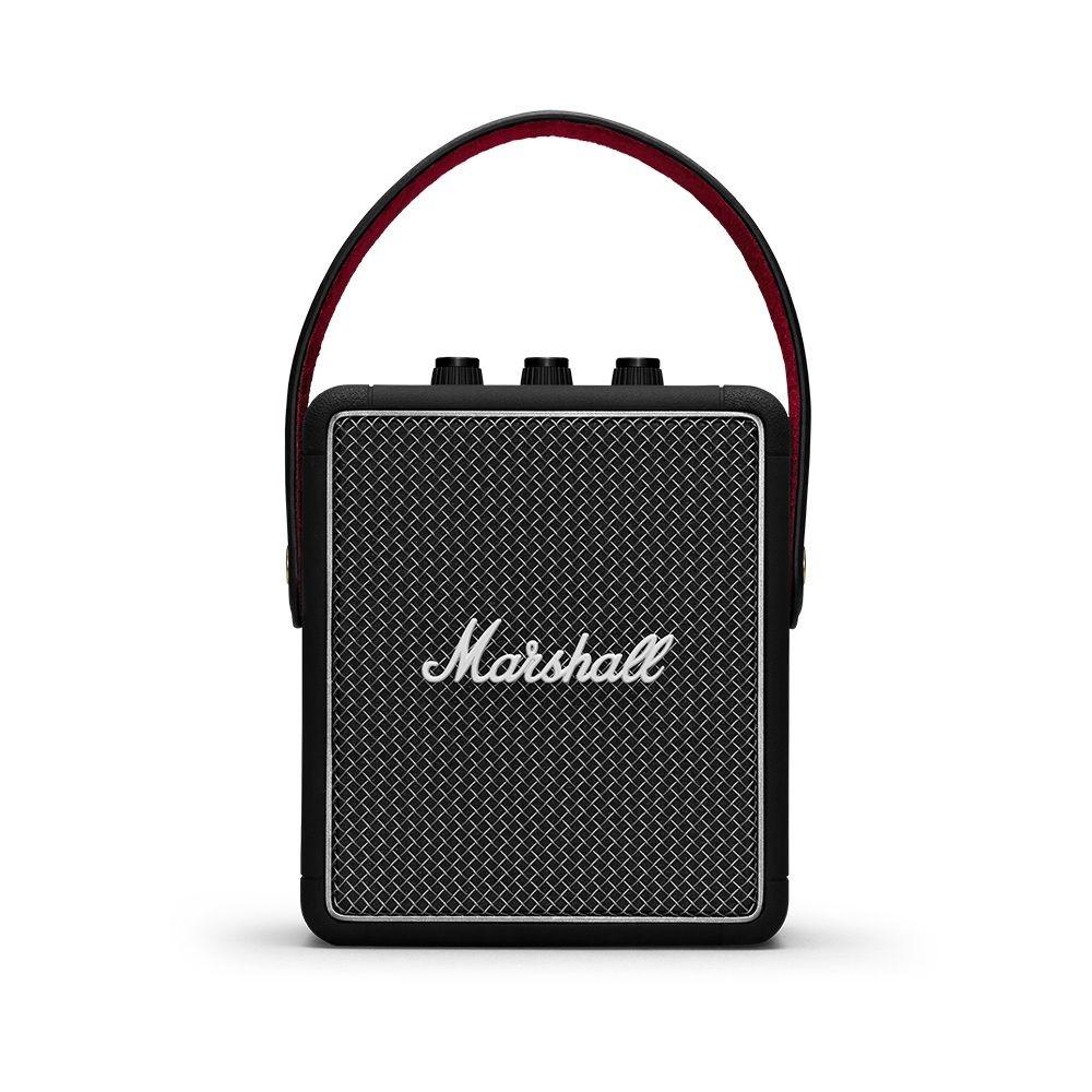 MARSHALL 英國 可攜藍牙無線喇叭 STOCKWELL II 第二代 台灣公司貨 保固一年產品規格顏色經典黑、限定灰、勃根地酒紅低音單體10瓦 D類擴大器x1高音單體5瓦 D類擴大器x2響應頻率