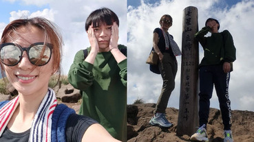 真閨蜜!Hebe 與青峰私下相約一同郊遊去爬山,粉絲融化:這組合也太可愛!