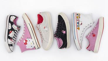 官方新聞 / 可愛警報注意 Converse x Hello Kitty 已在台發售