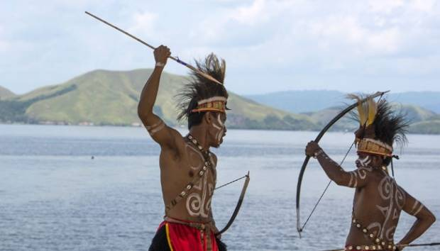 Papuan Figures Demand National Management Of Lake Sentani Tempo Co Line Today